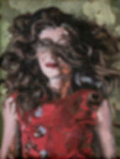 met rode lippen -Karel Vaes- copyright Maartje Elants