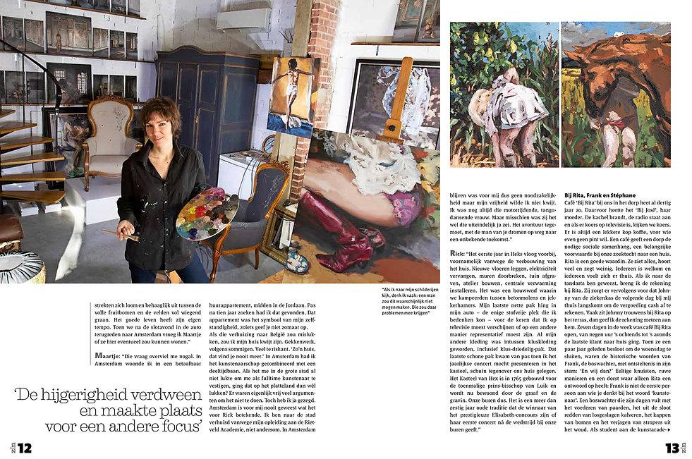 Zin Magazine - Rick en Maartje-pagina 3-