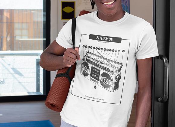 Unisex boombox t-shirt