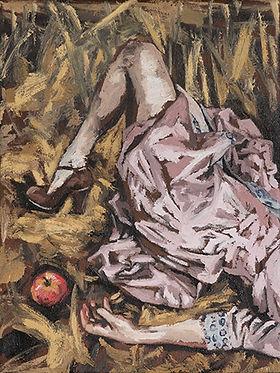 appel in het stro -Karel Vaes- copyright Maartje Elants