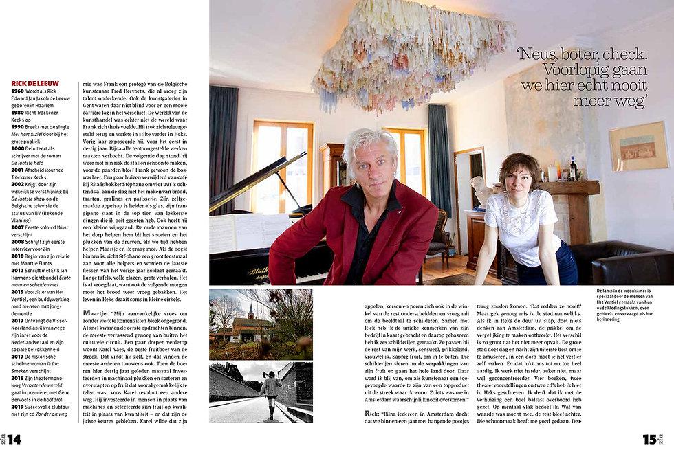 Zin Magazine - Rick en Maartje-pagina 4-