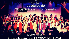 Convite especial - Associados do Clube Paineiras do Morumbi