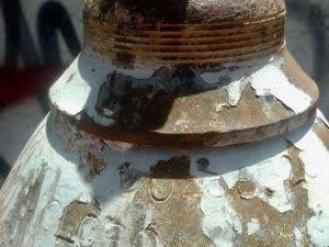 Roban tanque de gas cloro del Interapas en SLP