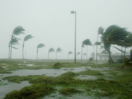 Los estragos del huracán Isidoro.