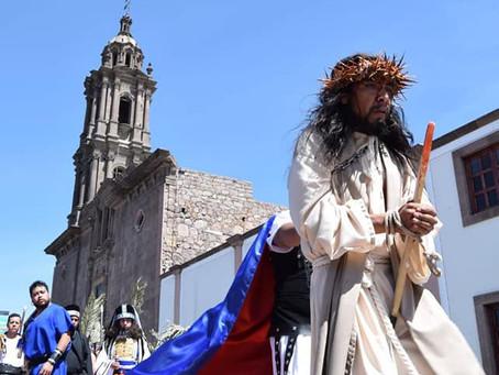 Covid-19 rompe 59 años de tradicional viacrusis en San Juan de Guadalupe.