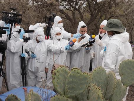 Periodistas potosinas se han sufrido recortes y malas condiciones laborales durante Pandemia.
