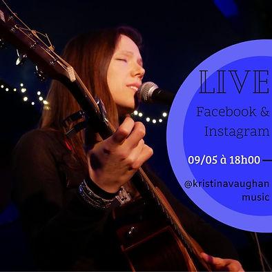 Livestream FB et Insta 09-05-2021 Kristi