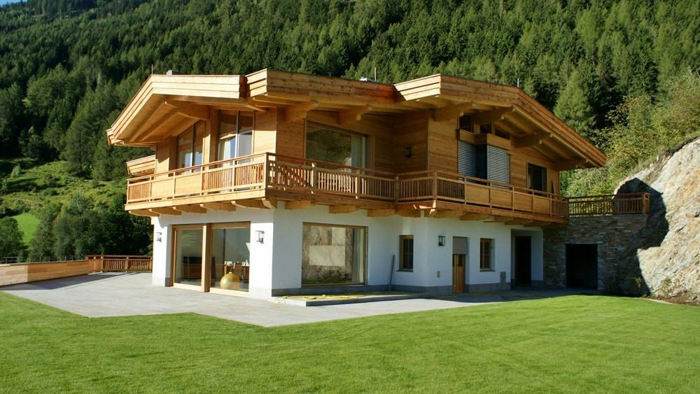 Архитектура дома в стиле Шале