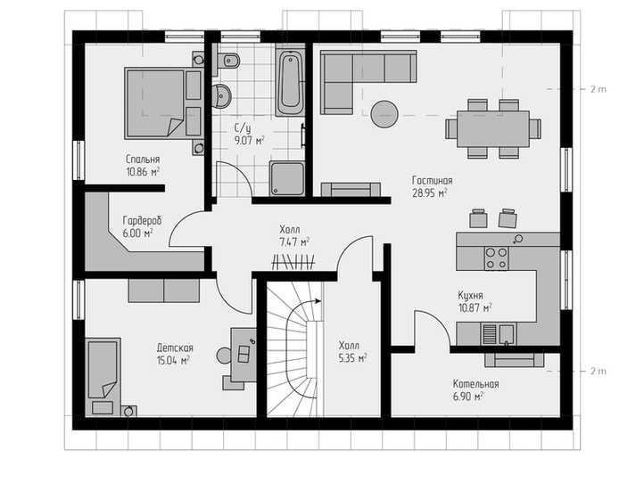 Проект дома 205