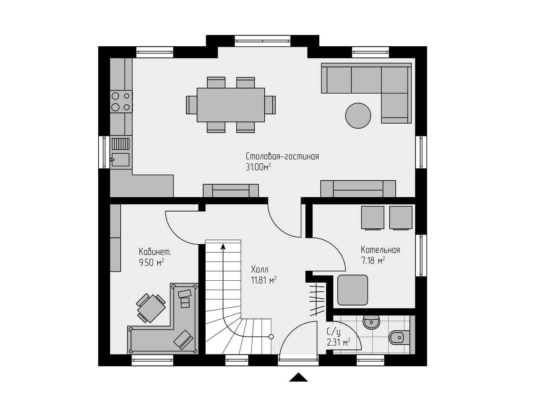Проект дома 119