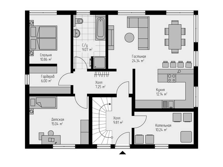 Проект дома 205 (1)