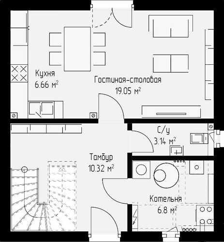Проект дома 98кв.м.
