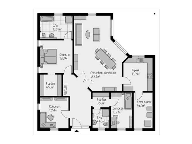Проект дома 147
