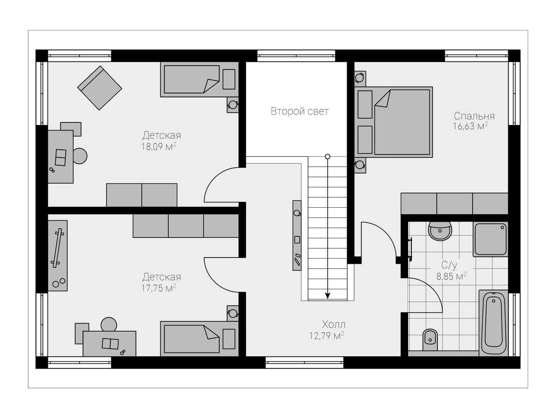 Проект дома 158 (2)