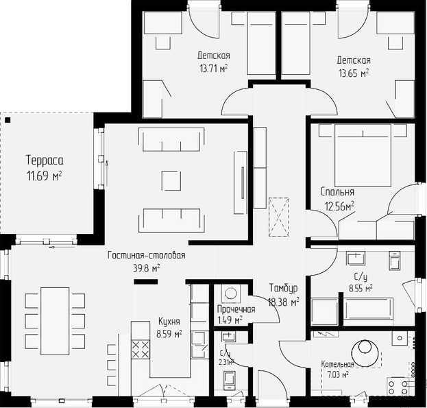 Проект дома 138