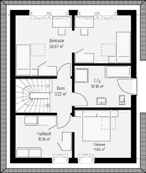 Проект дома 134.кв.м.