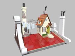 3D Визуализация декораций