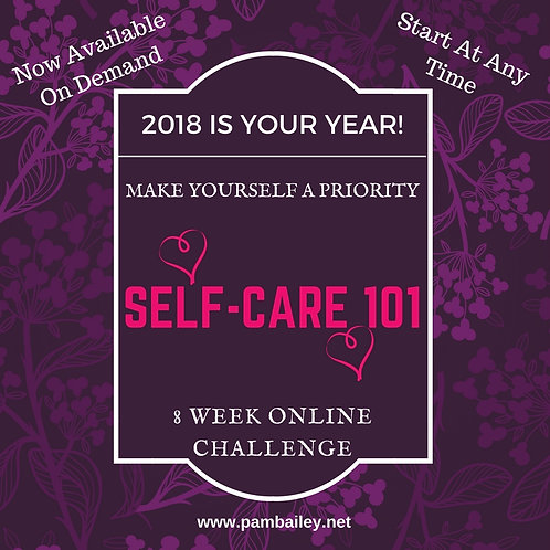 Self-Care 101 - 8 Week Online Challenge