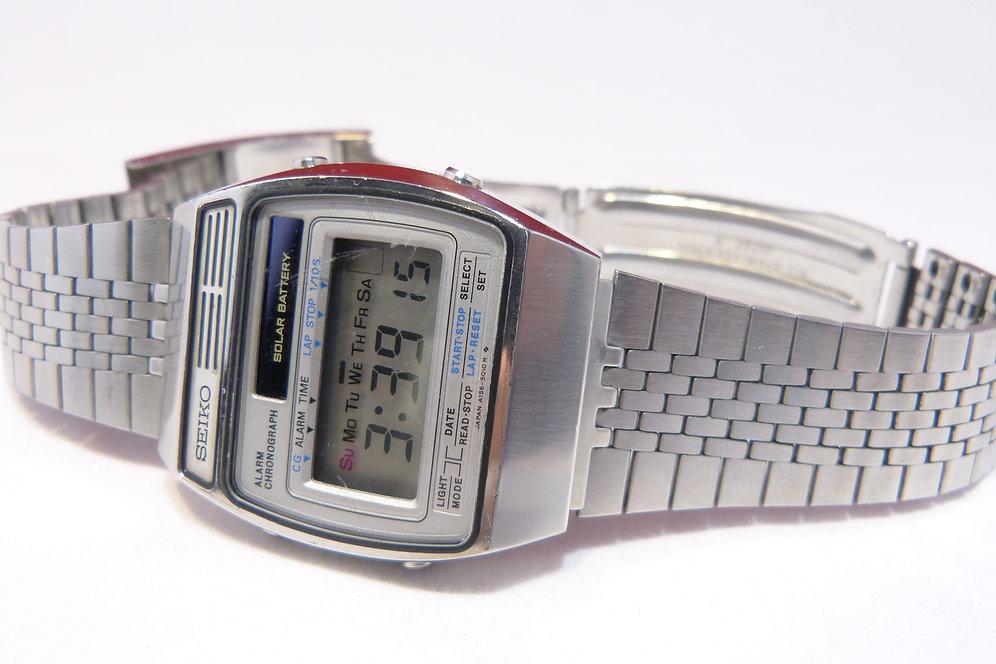 Seiko A156 5020 Solar Chronograph Alarm 1979 Watchup69
