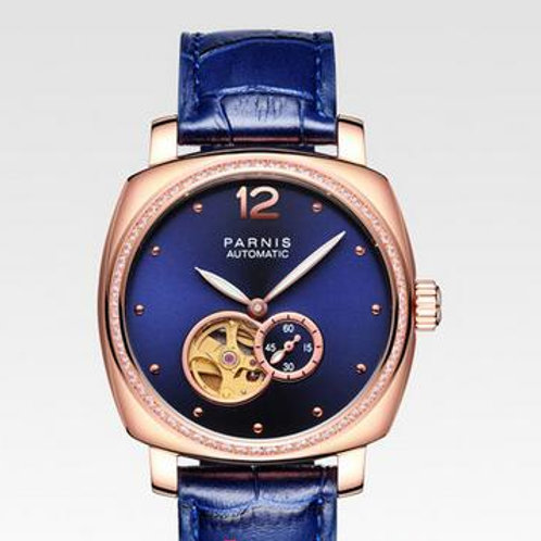 Parnis Open heart Gold Automatic ladies watch MM1229