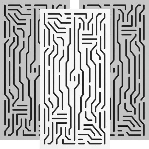 Azteka Doble - Bass Trap - Wall_Finishes