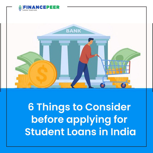 6 things you should know before applying for a student loan in India