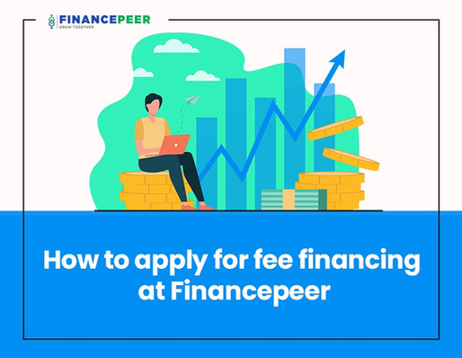 How to apply for fee financing at Financepeer