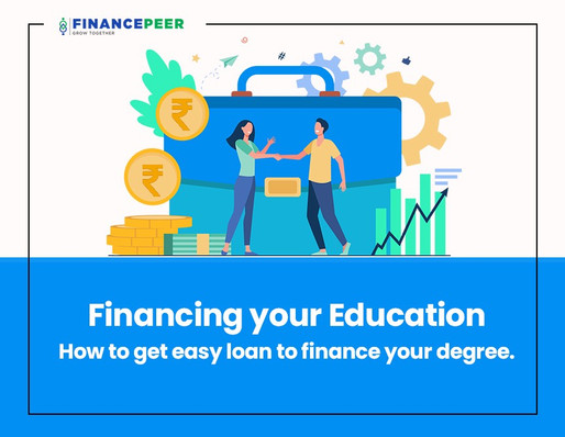 Know how to finance your education and manage your credit