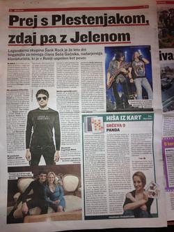 Slovenske Novice - Bulvar (29.4.2015)