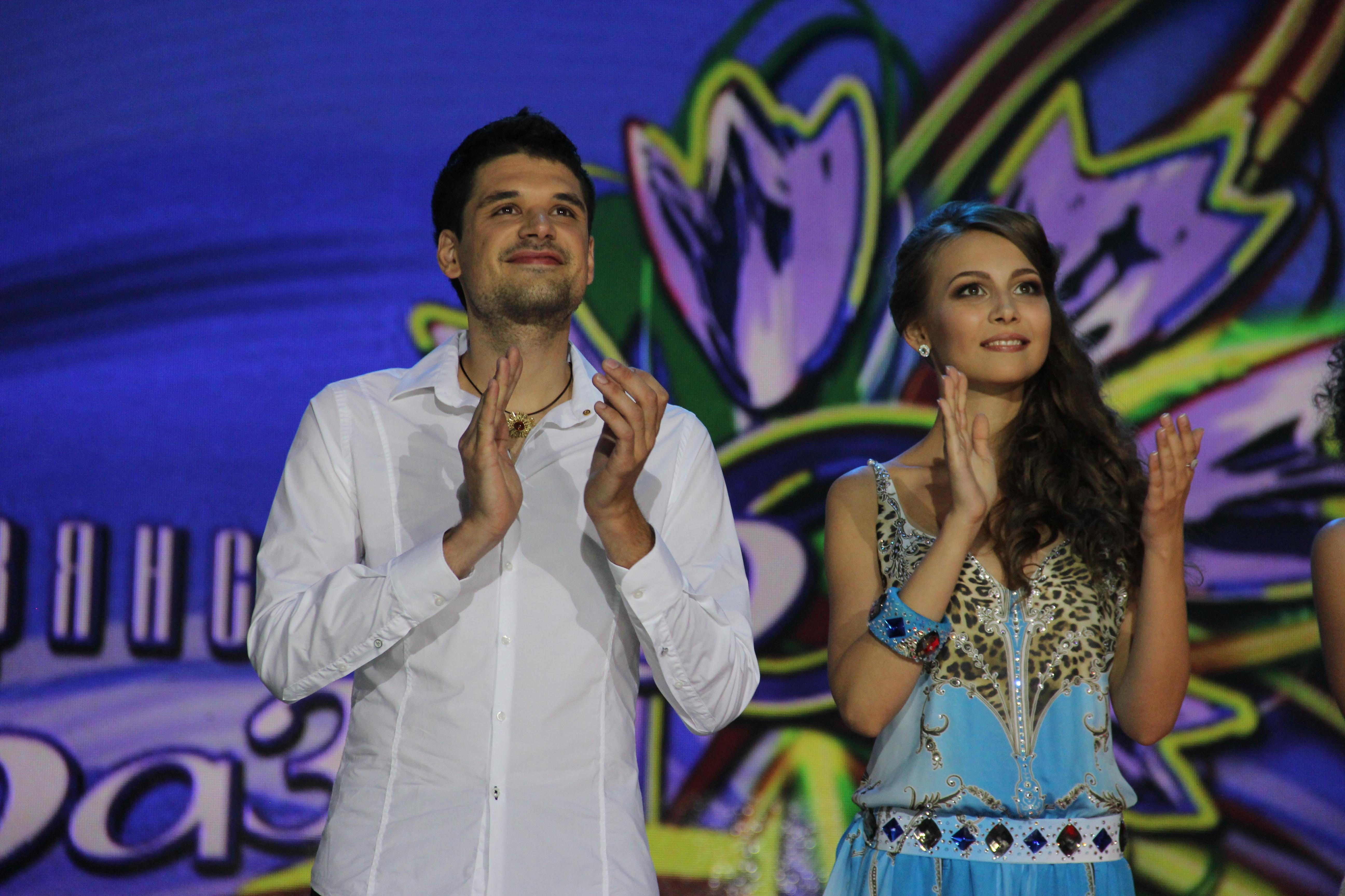 Svarogov in Anna Azarova
