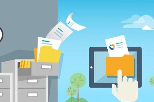 Pack Net_1  (10.000 Carillas Digitalización Web; Retiro On Site ; Web Netdoc)