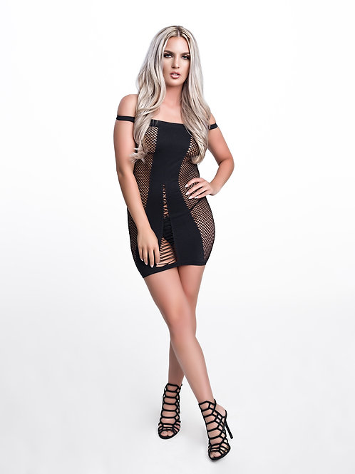 """Erotic"" Fishnet Dress"