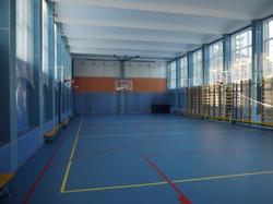 Спорт зал отремонтирован к 01.09.201