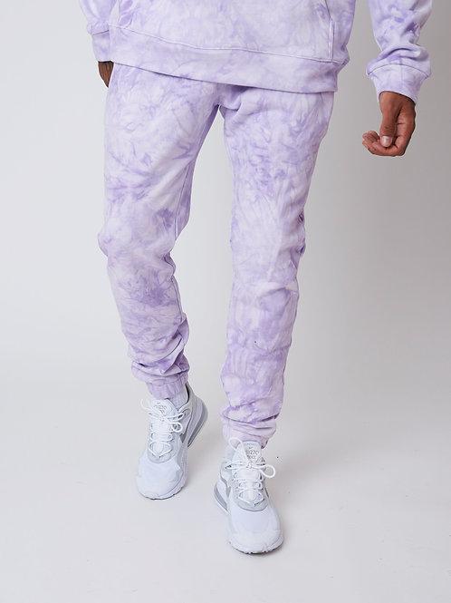 Bas de jogging Tie & Dye bicolore