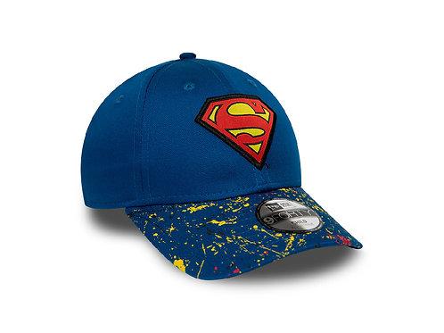 Casquette Bleue 9Forty New Era Superman Enfant