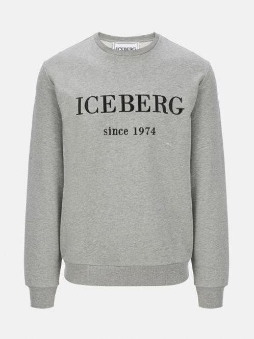 Pull classique gris Iceberg