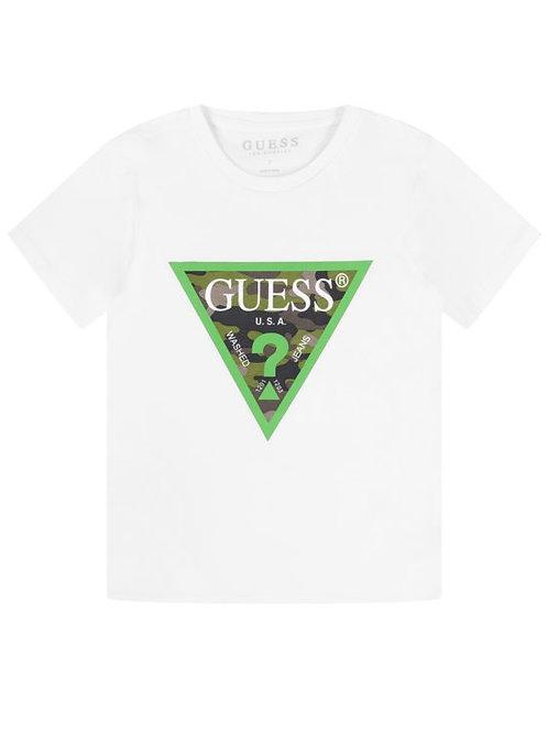T-shirt logo sur le devant GUESS