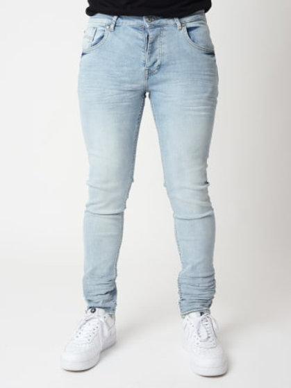 Jean bleu clair