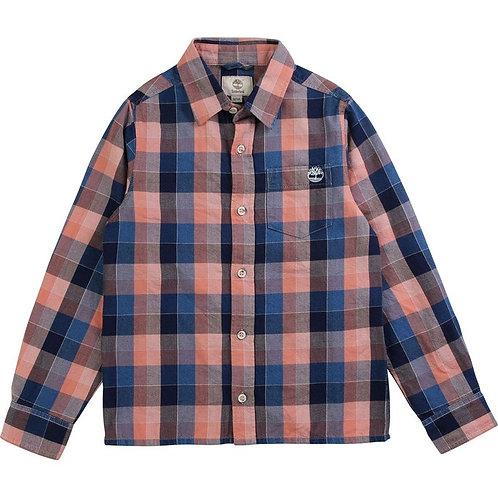 Chemise à carreaux en twill TIMBERLAND