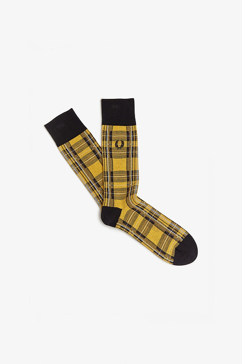 Chaussettes à carreaux écossais Stewart