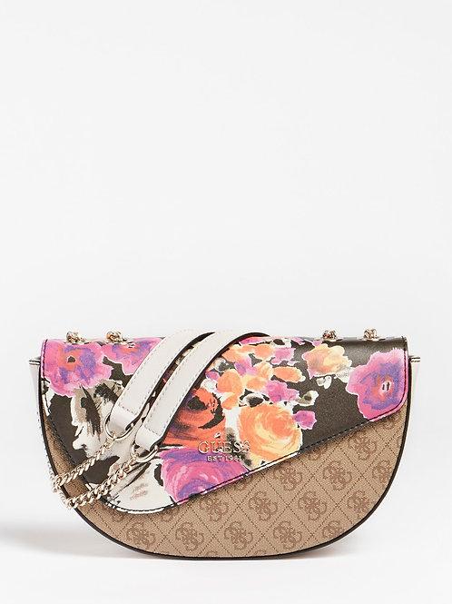 Sac d'épaule logo vision floral