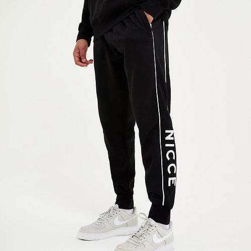 Jogging noir bandes horizontales