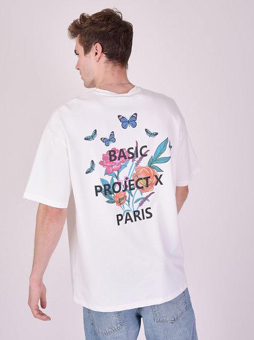 """Tee-shirt oversize """"floral"""""""