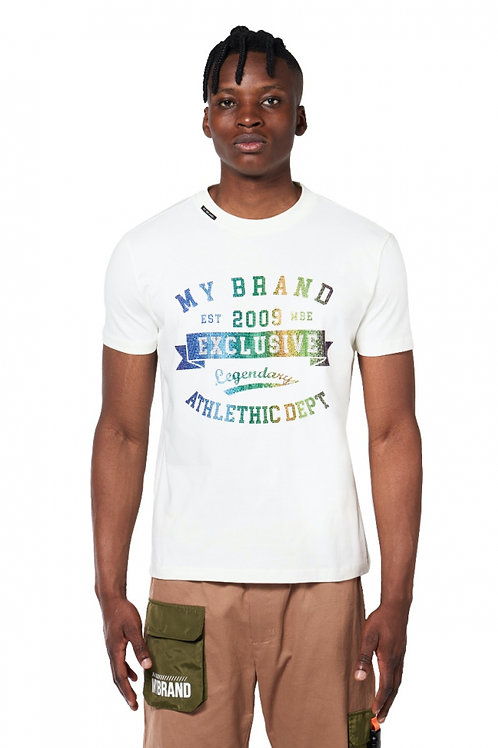 T-shirt legendary crème
