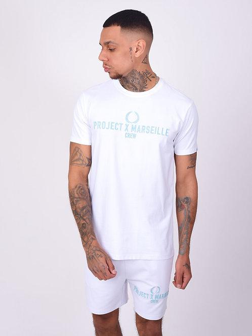 Tee-shirt logo Project X Marseille Crew