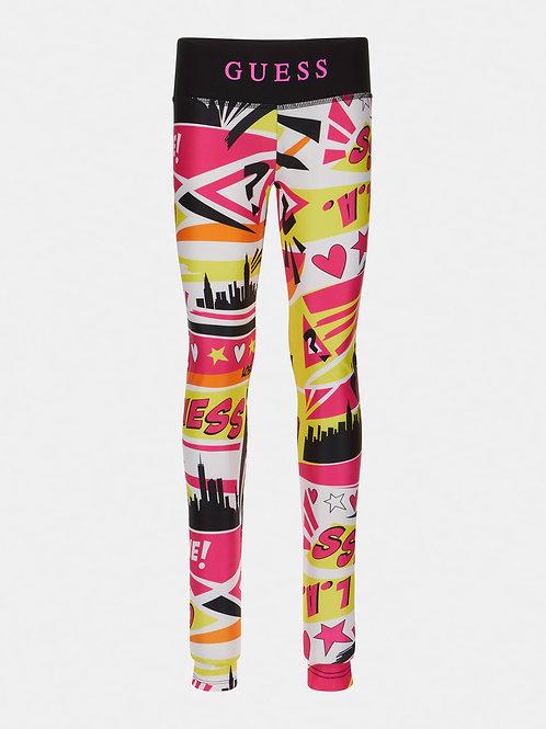 Pantalon imprimé BD