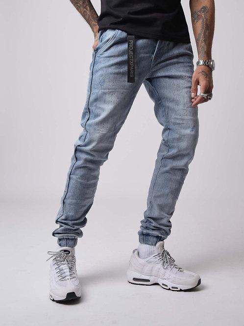 Jeans piping réfléchissant PROJECT X PARIS