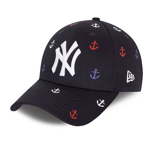 Casquette 9FORTY All Over Print des NY Yankees