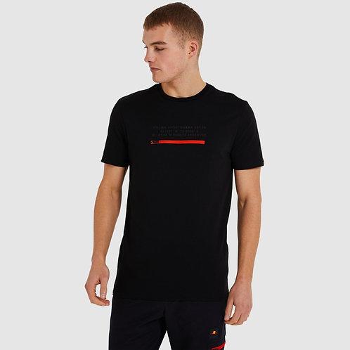 T-shirt noir Piedmont
