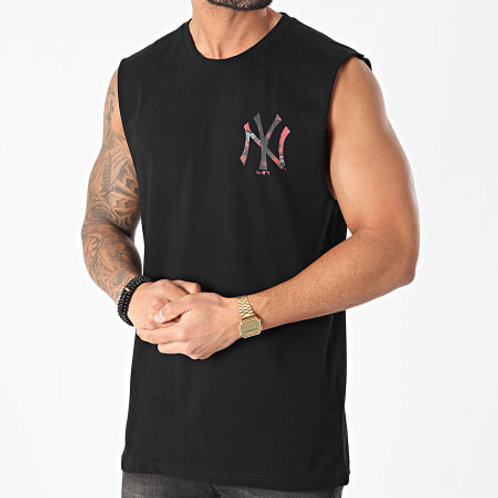 Débardeur noir NY camo